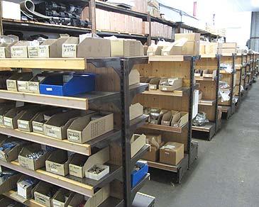 Vue rack DDPA pièces détachées